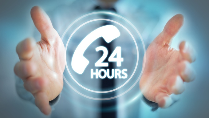 hands-cupping-24-hour-support-logo-business