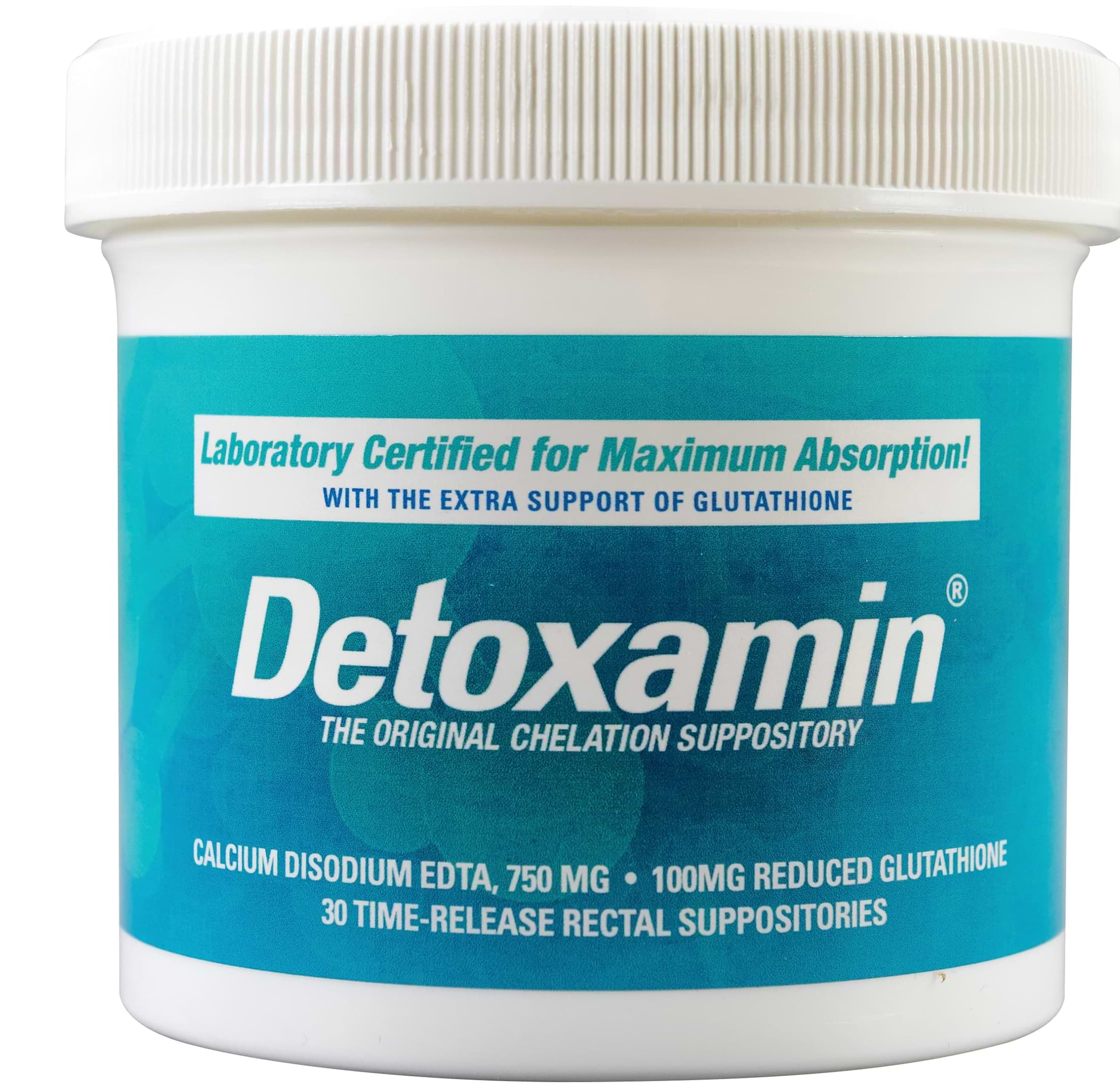 detoxamin are the best edta suppositories